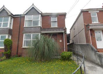 Thumbnail 3 bed semi-detached house to rent in Tavistock Road, Launceston, Cornwall