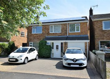 Thumbnail 4 bed detached house for sale in Glebe Way, Oakham