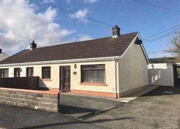 Thumbnail 2 bed semi-detached bungalow for sale in Tremyfoel, Penrhiwllan, Llandysul, Ceredigion