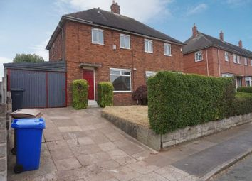 Thumbnail 2 bed semi-detached house for sale in Macdonald Crescent, Meir, Stoke-On-Trent, Staffordshire