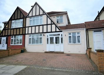 Thumbnail 4 bed semi-detached house for sale in Totternhoe Close, Harrow, Kenton, Middlesex