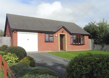 Thumbnail 3 bed detached bungalow to rent in Brynawelon, 1, Churchill Close, Newtown, Powys