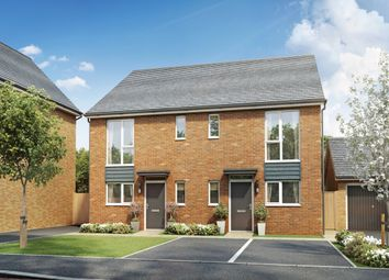 Thumbnail 3 bed semi-detached house for sale in Great Western Way, Taunton