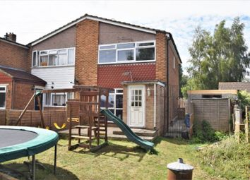 Thumbnail 3 bed semi-detached house for sale in Carlisle Close, Rochester