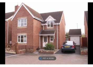 Thumbnail 4 bed detached house to rent in Cashford Gate, Taunton