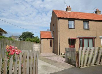 Thumbnail 2 bed semi-detached house for sale in The Croft, Horncliffe, Berwick-Upon-Tweed