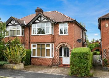 Thumbnail 3 bed semi-detached house for sale in Moss Lane, Alderley Edge, Cheshire