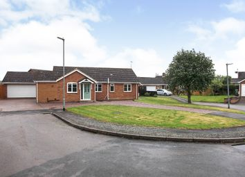 Thumbnail 3 bed detached bungalow for sale in Fox Covert, Stilton, Peterborough