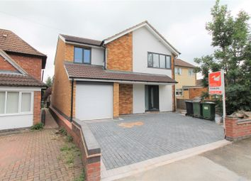 Thumbnail 4 bed link-detached house for sale in Brocks Hill Drive, Oadby, Leicester
