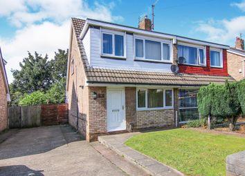 Thumbnail 3 bed semi-detached house for sale in Pleasington Drive, Prenton