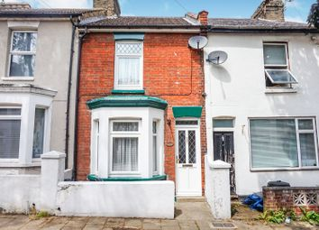 Thumbnail 3 bed terraced house for sale in Cobden Road, Chatham