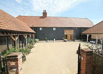 Thumbnail 5 bed barn conversion for sale in Two Hoots Barn, Little Laver, Ongar, Essex