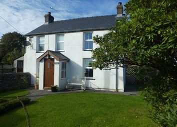 Thumbnail 4 bed detached house for sale in Cross Inn, Llanon