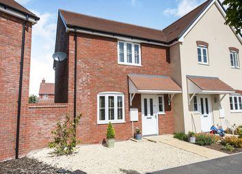Jacksmeadow, Uffington, Faringdon SN7. 2 bed semi-detached house for sale