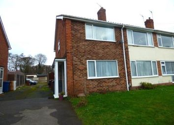 Thumbnail 2 bed maisonette for sale in Sambar Road, Fazeley, Tamworth, Staffordshire