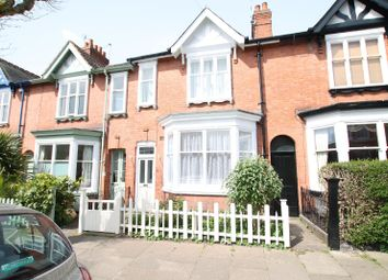 Thumbnail 4 bed terraced house for sale in Howard Road, Clarendon Park, Leicester