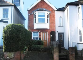 Thumbnail 2 bed semi-detached house to rent in Portland Road, Bishop`S Stortford, Herts