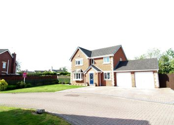 Thumbnail 4 bed detached house for sale in Oakfield Close, St. Martins, Oswestry