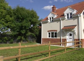 Thumbnail 3 bed property to rent in Well Hill, Yaxham, Dereham