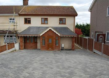 Thumbnail 3 bed semi-detached house to rent in Lea Road, Grays