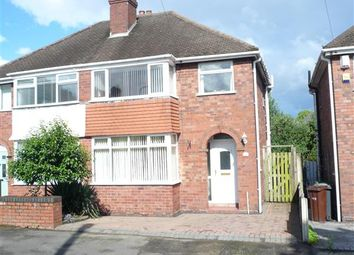 Thumbnail 3 bed semi-detached house for sale in Lawfred Avenue, Wednesfield, Wednesfield