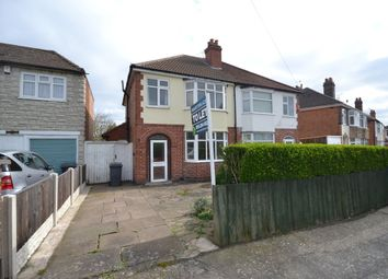 Thumbnail 3 bed semi-detached house to rent in Belvoir Drive East, Aylestone, Leicester