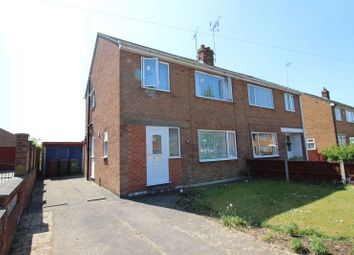 Thumbnail 3 bed semi-detached house for sale in Sunfield Crescent, Lincoln