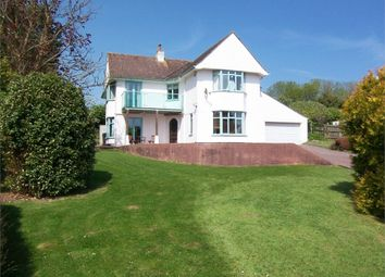 Thumbnail 4 bed detached house for sale in Beer Road, Seaton