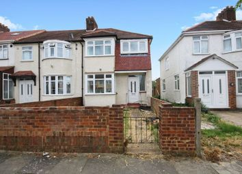 Thumbnail 3 bed end terrace house for sale in Ash Grove, Southall