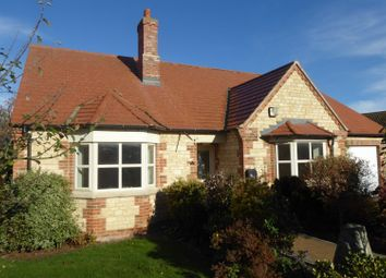Thumbnail 2 bed detached bungalow for sale in Bourne Road, Corby Glen, Grantham