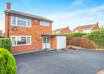 Thumbnail 3 bedroom detached house for sale in Charleston Crescent, Barwell, Leicester