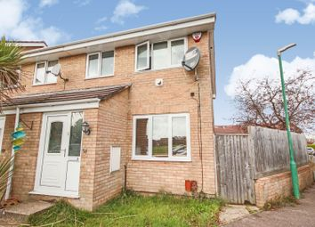 Thumbnail 3 bed semi-detached house for sale in Cadnam Way, Bournemouth