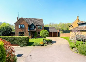 Thumbnail 4 bedroom detached house for sale in Kites Close, East Hunsbury, Northampton