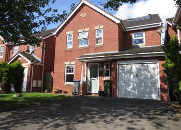 Thumbnail 4 bed detached house for sale in Curlew Drive, Chippenham