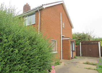 Thumbnail 1 bed semi-detached house for sale in North Forty Foot Bank, Wyberton Fen, Boston