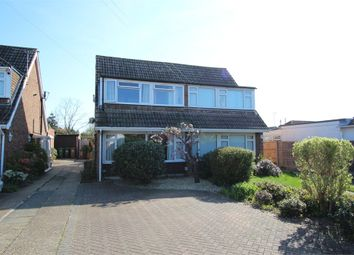 Thumbnail 3 bed semi-detached house for sale in Ashgrove Road, Ashford, Surrey