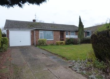 Thumbnail 3 bed detached bungalow for sale in Highfield Road, Saxilby, Lincoln