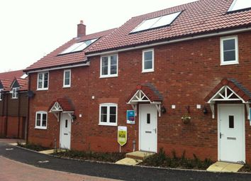 Thumbnail 3 bed town house to rent in Exige Way, Wymondham