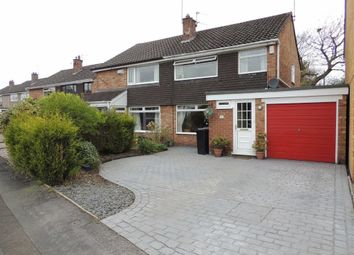 Thumbnail 3 bed semi-detached house for sale in Stokesay Drive, Hazel Grove, Stockport