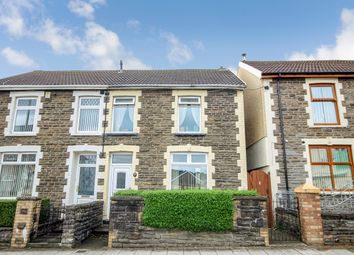 Thumbnail 3 bed semi-detached house for sale in Commercial Street, Gilfach, Bargoed