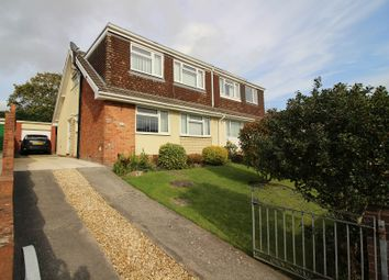 Thumbnail 4 bed semi-detached house for sale in Hendre Road, Pencoed, Bridgend.