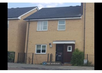 Thumbnail 2 bed semi-detached house to rent in Drake Way, Reading
