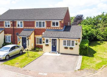 Thumbnail 3 bed end terrace house for sale in Kefford Close, Bassingbourn, Royston