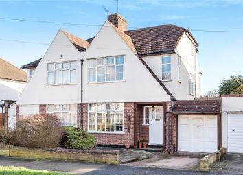 Thumbnail 4 bedroom semi-detached house for sale in Holmdale Road, Chislehurst