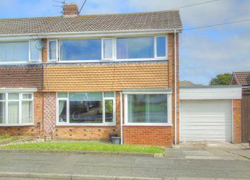 Thumbnail 3 bed semi-detached house for sale in Brockenhurst Drive, Sunderland