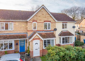Thumbnail 3 bed terraced house for sale in Hawthorn Way, Leavenheath, Colchester