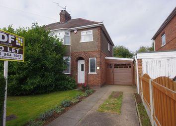 Thumbnail 3 bed terraced house to rent in Shortwood Avenue, Hucknall, Nottingham