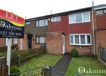 Thumbnail 3 bed terraced house for sale in Water Mill Close, Birmingham, West Midlands.