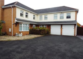 Thumbnail 5 bedroom detached house for sale in Marwood Close, Nuneaton, Warwickshire