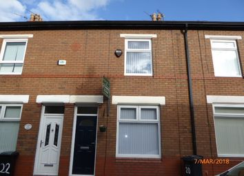 Thumbnail 2 bedroom terraced house to rent in Colborne Avenue, Reddish, Stockport